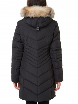 Pajar Queens real fur coat - Black