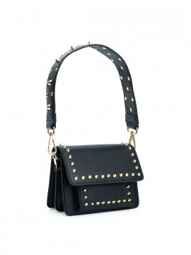 the Rubz Scarlett small plain studs bag - Black