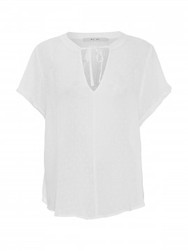 Costamani Helen top S/S - Offwhite