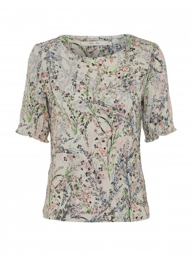 Costamani Mie jersey S/S top - Neon flower