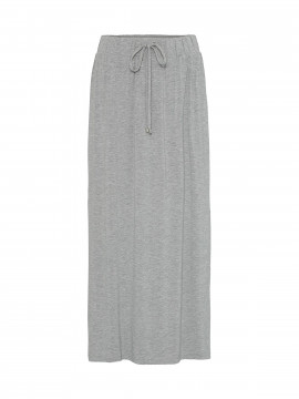 Costamani Marie jersey long skirt - Grey melange