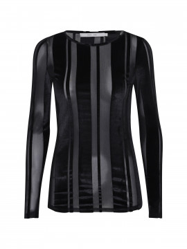 Costamani Agnes L/S top - Black