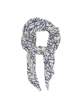 Costamani Heart scarf - Blue