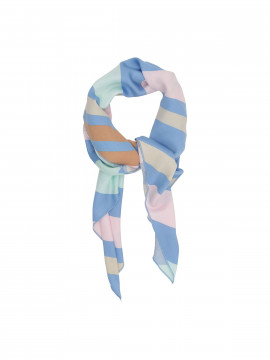 Costamani Stripe scarf - Multi col.