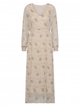 Costamani Annabel flower dress - Sand