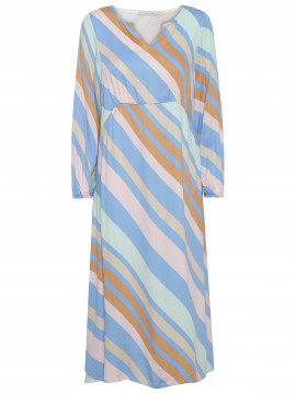 Costamani Happy stripe dress - Multi col.