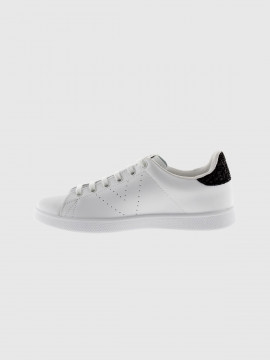 Victoria shoes white tennis sneakers - black