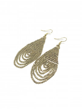 by Bram Oval pearl earrings - Gold