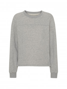 Costamani Logo sweat shirt - Grey melange