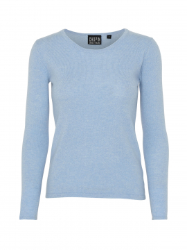 Chopin Dacia cashmere O-neck - Light blue