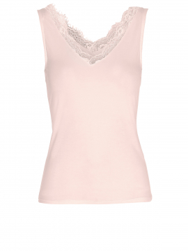 Eves Simi lace top - Rose