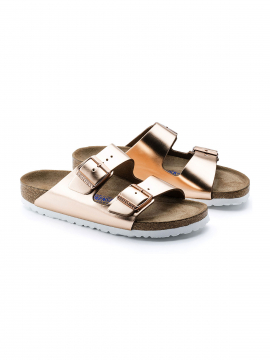 Birkenstock Arizona narrow sandal - Metallic Copper