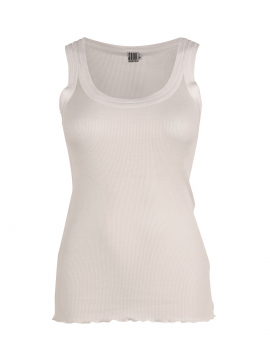 Saint Tropez Silk tank top - Off white