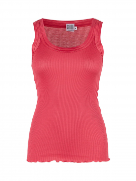 Saint Tropez Silk tank top - Red